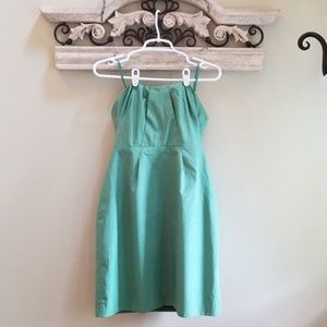 J.Crew strapless Halter Dress ☘